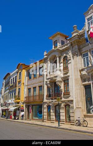Alte Stadt, Aveiro, Beiras Region, Portugal, Europa - Stockfoto