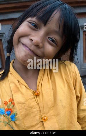 australische Mädchen in Bali