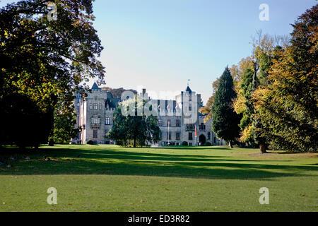 Schloss Hedringhausen Schloss, Arnsberg, Deutschland, Schloss Hedringhausen, Kulisse Für Edgar-Wallace-Filme, Arnsberg, - Stockfoto