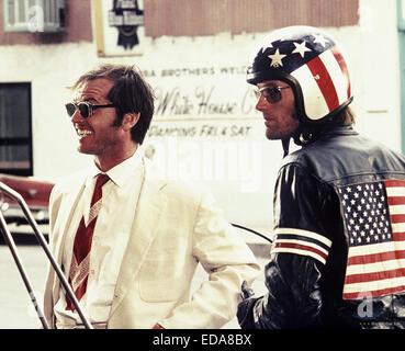 Easy Rider ist ein 1969 American Road Film, geschrieben von Peter Fonda und Dennis Hopper, Terry Southern, produziert - Stockfoto