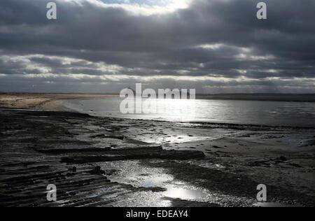 Mont St. Michel Bay, Normandie, Frankreich - Stockfoto