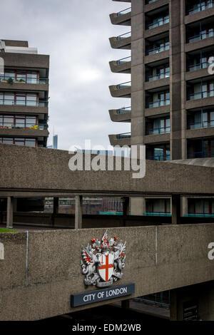 Vorwerk-zustandes brutalist Architecture in Beton, London, UK - Stockfoto