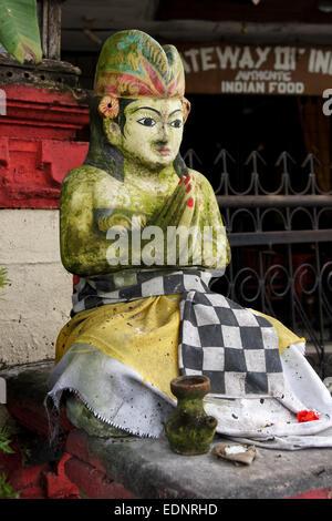 Balinesische Statue. Sanur, Bali, Indonesien