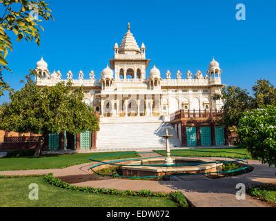 Muasoleum der Maharaja Jaswant Sing II in Jodhpur, Rajasthan, Indien - Stockfoto