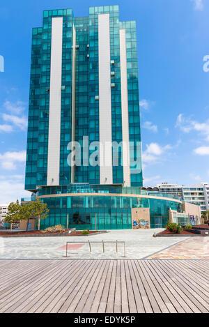 Arrecife Gran Hotel, Av De La Mancomunidad, Arrecife, Lanzarote, Kanarische Inseln, Spanien - Stockfoto
