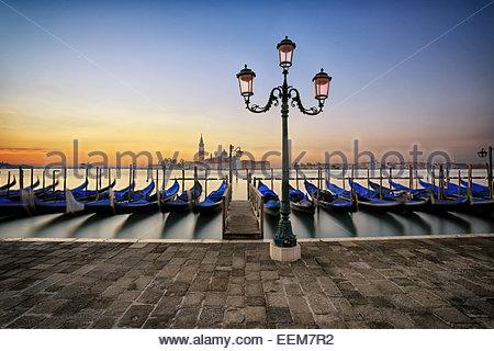 Italien, Venedig, Sunrise in der Stadt