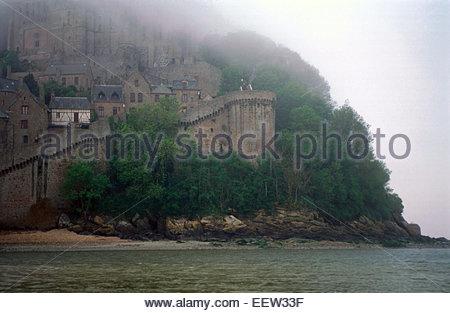 Mont Saint-Michel, Normandie, Frankreich. Legende von Frankreich - Stockfoto