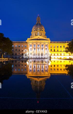 Kanada, Alberta, Edmonton, Legislative Building - Stockfoto