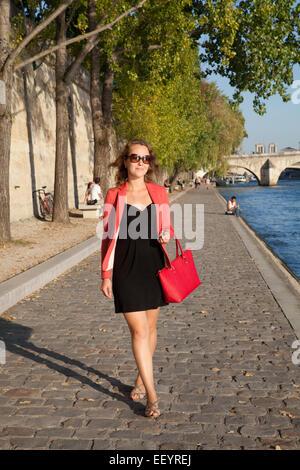 Die junge Dame, Paris, Frankreich. - Stockfoto