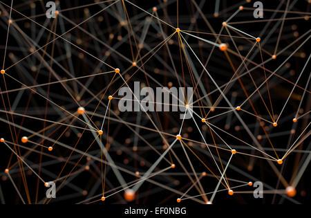 Zusammenfassung Hintergrund der Leitungen und Anschlüsse. - Stockfoto