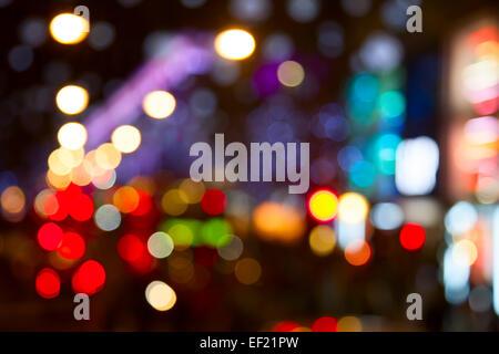 Nachtlichter von der Londoner city - Stockfoto