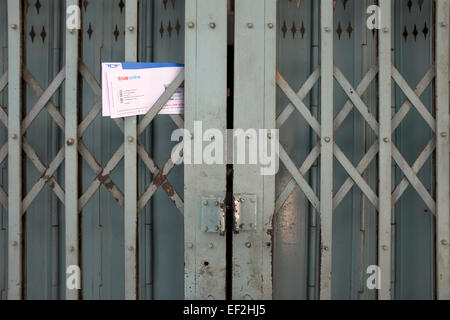 Briefe nach Haus Bangkok Thailand - Stockfoto