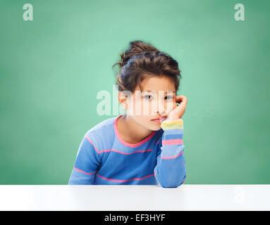 Trauriges Mädchen - Stockfoto