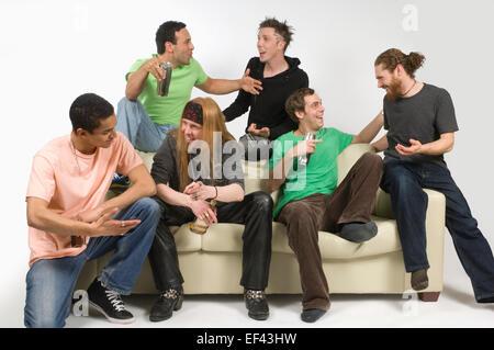 Gruppe von Freunden Geselligkeit - Stockfoto