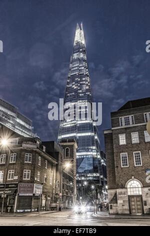 Der Shard, Wolkenkratzer, London, Vereinigtes Königreich, - Stockfoto