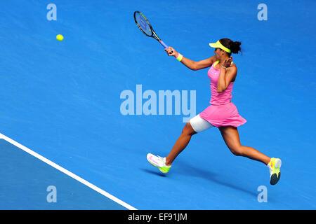 Melbourne, Australien. 29. Januar 2015. 2015. Australian Open Tennis Championships. Madison Keys (USA) beim ihr - Stockfoto