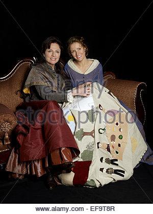 JACQUELINE BISSET, HELENE FREUDE, ein ALTMODISCHES THANKSGIVING, 2008 - Stockfoto