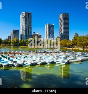 Ansicht der Ueno-Park, Tokio, Japan. - Stockfoto