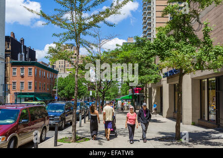 Henry Street in Brooklyn Heights, Brooklyn, New York City, NY, USA - Stockfoto