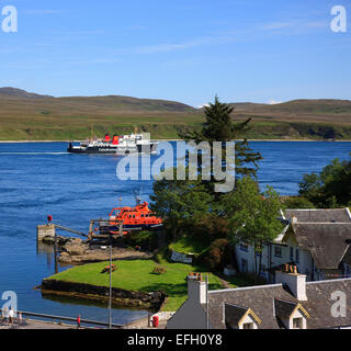 MV Isle of Arran Abfahrt Port Askaig, Islay - Stockfoto