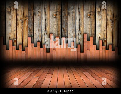 Holzmaserung Texturen; Innen Holz Hintergrund Boden  Und Wandbelägen, Zwei Verschiedene  Holz Texturen Für Architektonische Indoor Hintergrund
