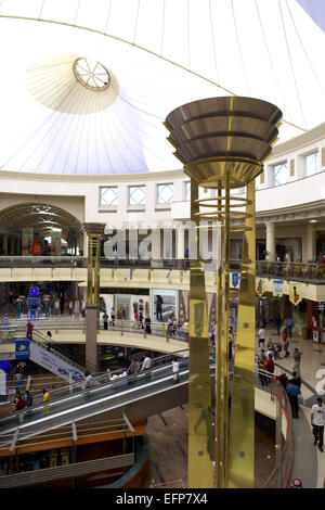 Vereinigte Arabische Emirat Dubai Deira City Centre Shopping Mall Eingangsbereich Einkaufstempel Center Kaufhaus - Stockfoto
