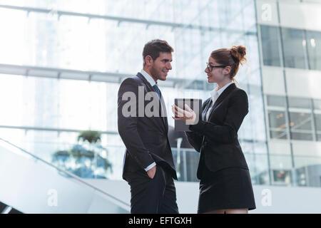 Business-Leute treffen - Stockfoto