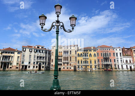 Canal Grande, Venedig, Italien - Stockfoto