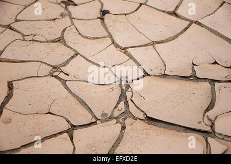 Trockene Böden, Death Valley, Kalifornien, usa - Stockfoto