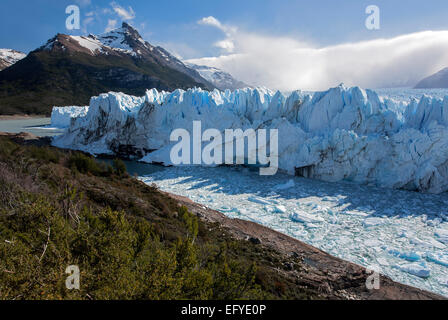 Perito Moreno-Gletscher. Nationalpark Los Glaciares. Patagonien. Argentinien - Stockfoto