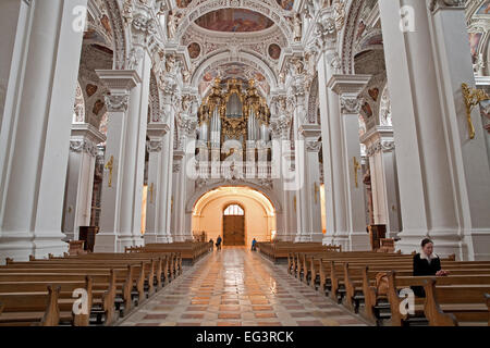 die gr te orgel der welt im passauer dom stockfoto bild 144803707 alamy. Black Bedroom Furniture Sets. Home Design Ideas