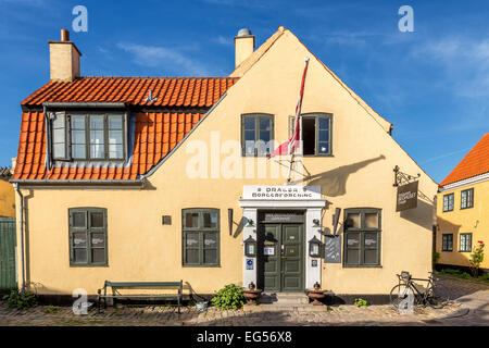 Typisches altes Haus in der Fischerei Dorf von Dragør, Copenhagen Bereich, Dänemark - Stockfoto