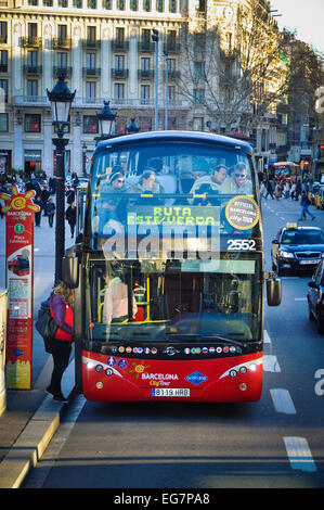 Barcelona Spanien Gruell Park - Stockfoto
