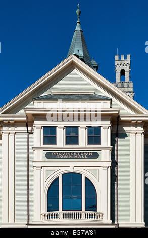 Rathaus, Provincetown, Cape Cod, Massachusetts, Neuengland, USA ...