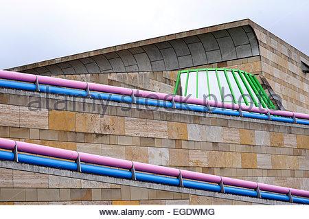 Deutschland baden wurttemberg stuttgart die neue for Neue architektur stuttgart