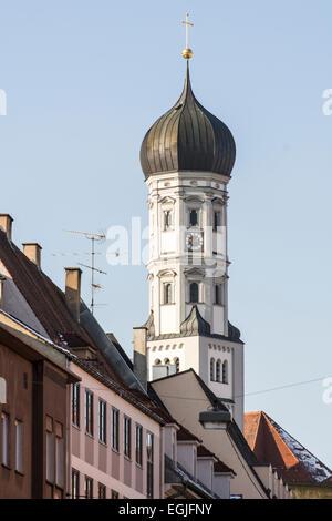 Heilig-Kreuz-Kirche in Augsburg (Deutschland, Bayern) - Stockfoto