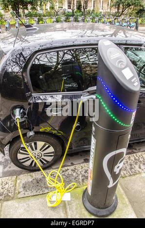 Elektromotive ist eine in Großbritannien ansässige Unternehmen in der Herstellung und Installation von Ladestationen - Stockfoto