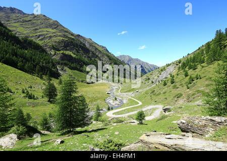 Klettersteig Chateau Queyras : Frankreich hautes alpes regionalpark von queyras chateau