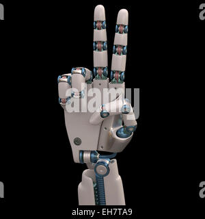 Roboterhand, Abbildung - Stockfoto