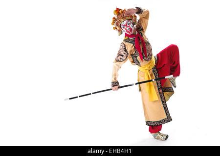 Die Hauptfiguren der Oper Monkey King - Stockfoto