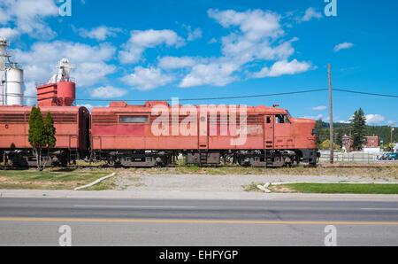 Canadian Pacific Alco Fa 2 4090 Diesel Lokomotive 1954 Wartet Auf