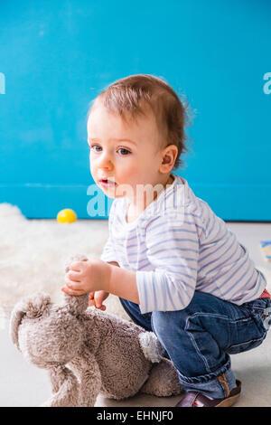 18 Monate alten Jungen. - Stockfoto