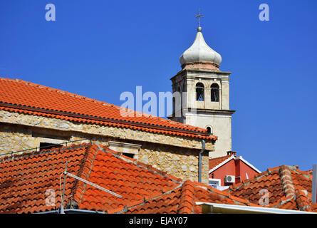 Die Stadt Skradin in Dalmatien - Stockfoto
