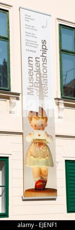 Zagreb, Museum der zerbrochenen Beziehungen. - Stockfoto