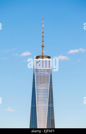 One World Trade Center, New York, Manhattan, Vereinigte Staaten von Amerika - Stockfoto