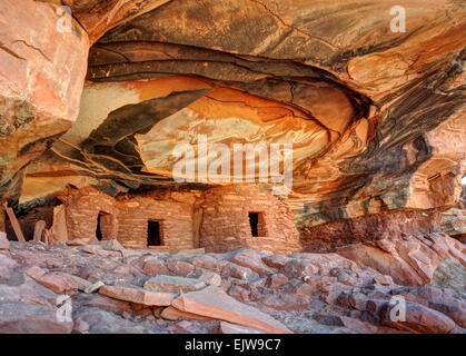 Gefallenen Dach Anasazi Ruinen - Cedar Mesa - Utah - Stockfoto