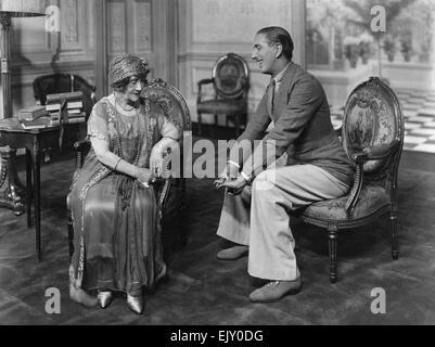 "Szene aus dem Stück ""Auf Chauga"" 31. Juli 1923. - Stockfoto"