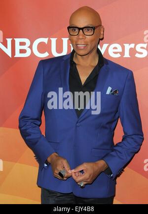 Los Angeles, Kalifornien, USA. 2. April 2015. RuPaul besucht NBC Universal Sommer Presse Tag 2015 im The Langham - Stockfoto