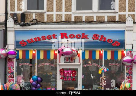Sunset Rock Shop, Margate, Kent, England - Stockfoto