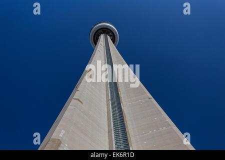 CN Tower in Toronto, Ontario, Kanada - Stockfoto